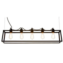 Pop 100 Bar 5 Light Pendant Light