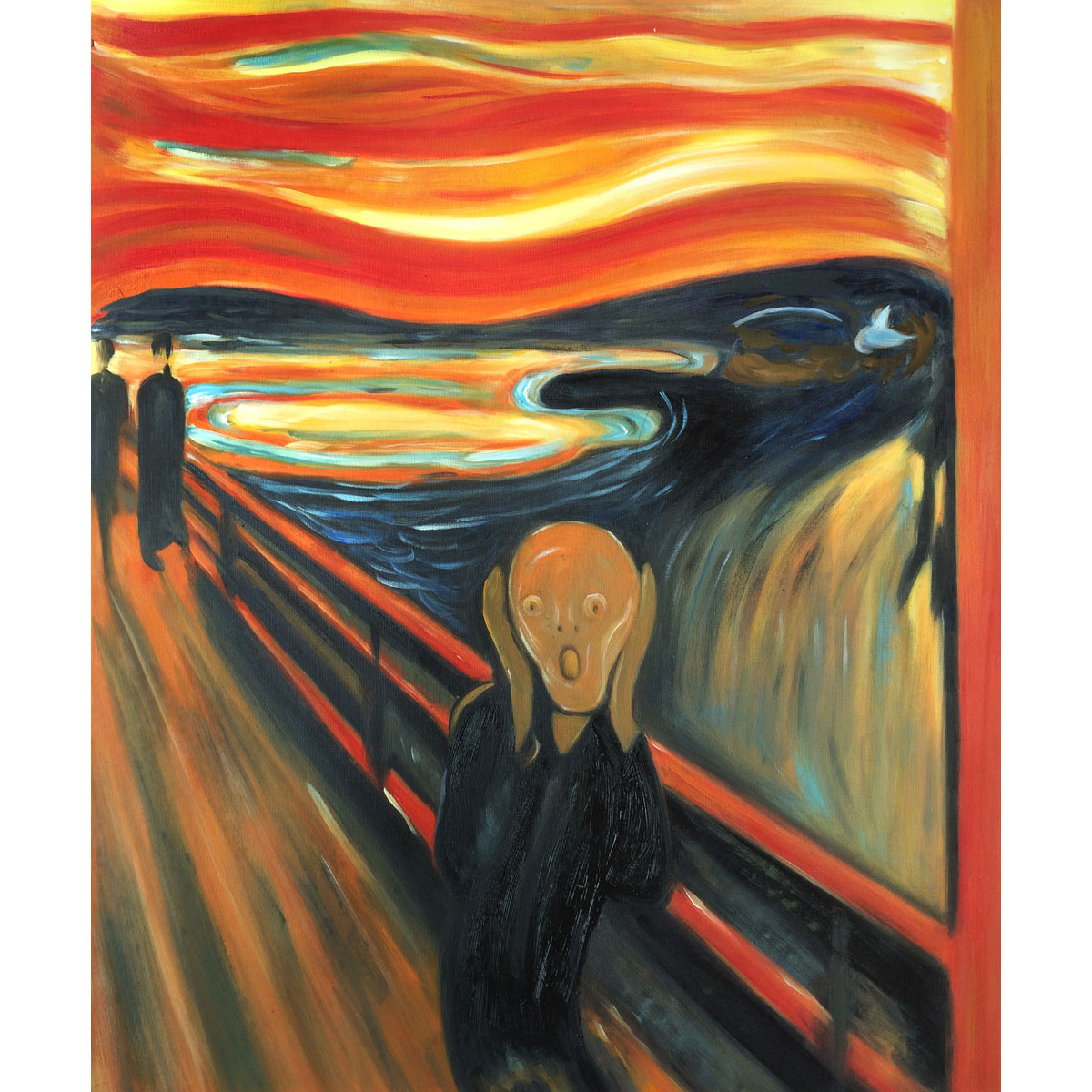 an analysis of edward munchs painting the scream Analysis: edvard munch and the scream updated on may 16, 2017 keely mahaffey more this paper will cover the effects edvard munch's life imposed on his art the scream by edvard munch: analysis, meaning and interpretation of the painting.