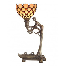 Mystical Lady Art Deco Lamp