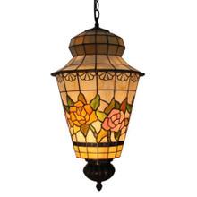 Rose Tiffany Lantern Pendant Light