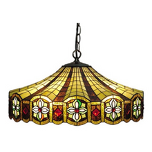 Circus Tiffany Floral Pendant Light