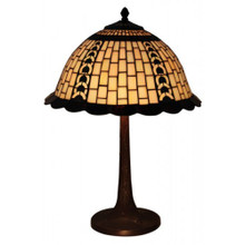 Geometric Filigree Table Lamp