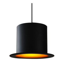 Replica Metal Wooster Top Hat Pendant Light