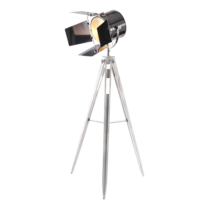 Vintage cinema tripod spot light floor lamp zest lighting vintage cinema tripod spot light floor lamp loading zoom mozeypictures Image collections