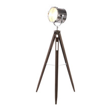 Vintage Caged Tripod Spot Light Floor Lamp