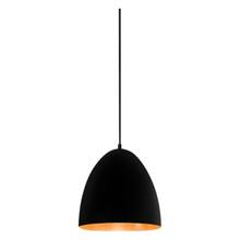 Egg Black Label Copper Pendant Light