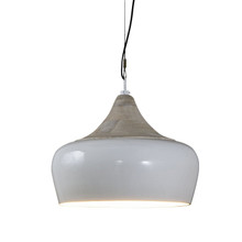 Milano White Hanging Pendant Lamp