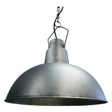 Brushed Iron Hanging Pendant Lamp