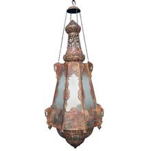 Aladdin Rustic Antique Ornate Chandelier - Large
