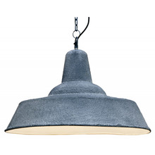 Industrial Grey Iron Pendant Light