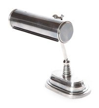 Carlisle Silver Bankers Table Lamp