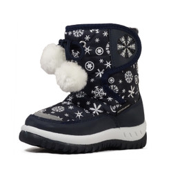 Nova Toddler Little Kid's Winter Snow Boots - NF508 Blue