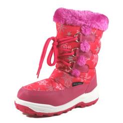 Nova Toddler Little Kid's Winter Snow Boots - NF710 Fuchsia