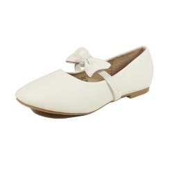 Nova Utopia Toddler Little Girls Flat Shoes - NFGF042 White