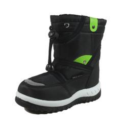 Nova Toddler Little Kid's Winter Snow Boots - NF712 Black