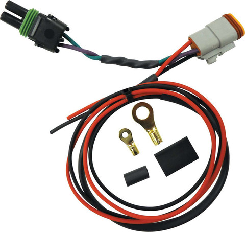products wiring kits quickcar wiring harness 2 pin deutsch to 2 pin weatherpack quickcar harness crane distributor