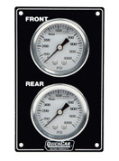 Mini Brake Biasa Gauge Panel Vertical Black 61-105