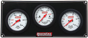61-7012  -  Gauge Panel Assembly - Extreme - Fuel Pressure/Oil Pressure/Water Temp - White Face - Warning Light - Kit