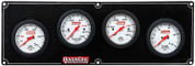 61-7021  -  Gauge Panel Assembly - Extreme - Fuel Pressure/Oil Pressure/Oil Temp/Water Temp - White Face - Warning Light - Kit