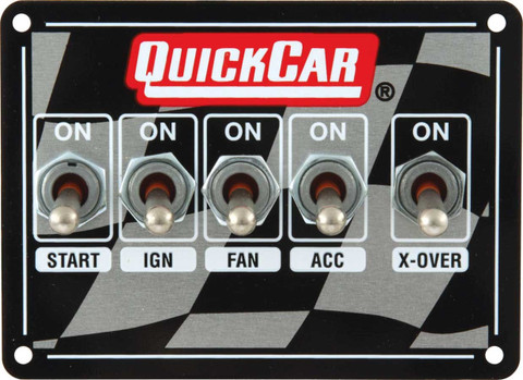 products ignition control panels page 1 quickcar 50 1711 switch panel dash mount 4 1 8 in