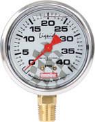 56-0041 - Tire Pressure Gauge Head - Liquid Filled - 0-40 psi - Quickcar Tire Pressure Gauges - Each