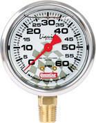 56-0061 - Tire Pressure Gauge Head - Liquid Filled - 0-60 psi - Quickcar Tire Pressure Gauges - Each