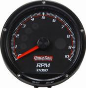 """63-002 - Gauge - Tachometer - Redline - 0-10,000 RPM - 3"""" Diameter - Multi Recall - Black Face"""