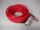 "3/16"" x 25 Feet - Winch Extension - Red"