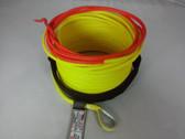 "1/4"" x 50 Feet - Warning Winch Rope - Yellow"