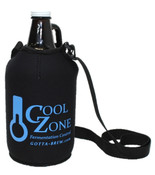 5mm neoprene Koozie keeps your finished brew nice and cold when you take it with you.  (Growler not included)