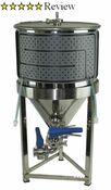 Conical Cooling Jackets make it easy and affordable to add a cooling system to your conical fermenters!