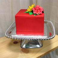 Square Cake Plate
