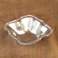 Hammered Beaded Small Bowl