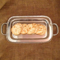 Beaded Handle Small Tray