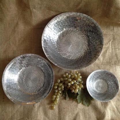 Basket Weave Trio