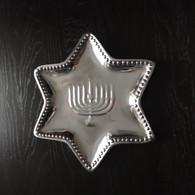 Hanukkah Star Plate