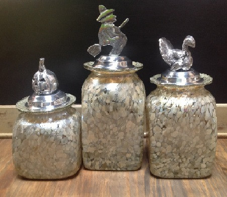 Canister Set in Beige