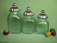 Canister Set-- Clear