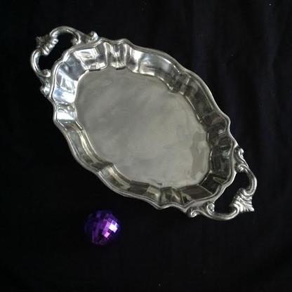 Oval Ornate Casserole