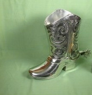 Cowboy Boot Beverage Holder