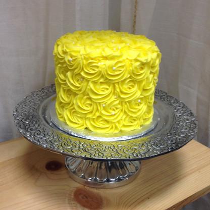 Scrolled Edge Cake Plate