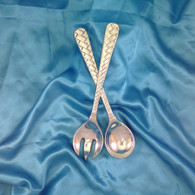 Basket Weave Salad Servers