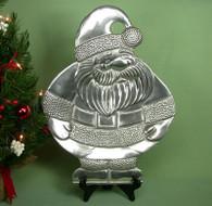 Santa Platter- Happy Santa