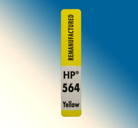 4727, Label HP 564 Yellow - Sheet of 30 Labels