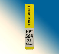 4728, Label HP 564 XL Yellow - Sheet of 30 Labels