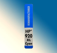 4733, Label HP 920 XL Cyan