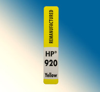 4734, Label HP 920 Yellow