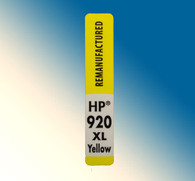 4735, Label HP 920  XL Yellow