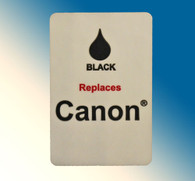 4780, Label Canon Universal Black - Sheet of 63 Labels