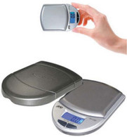 7075, Scale Pocket Size Digital Scale - 0.1 g / 0.01 oz  readability 150 g / 5.29 oz capacity